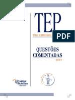 Título de especialista em Pediatria - questões comentadas 2007