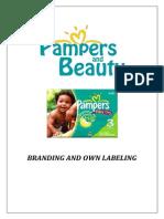 Pampers Marketing Sample