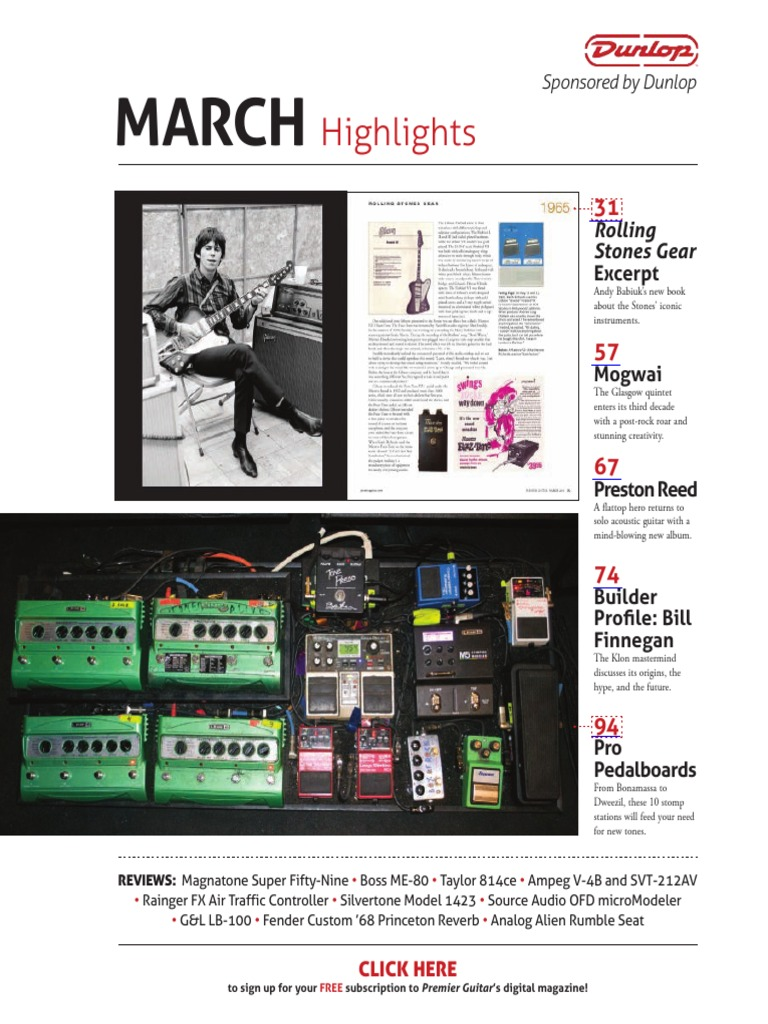 Premier Guitar March 2014 Guitars Family Instruments Society Mesa Boogie Dual Rectifier Electronic Circuit Schematic