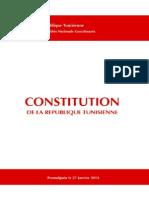 Constitution tunisienne en Francais