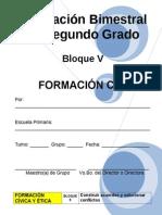 2do Grado - Bloque V Formación CyE