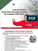 Plan Nacional SIMON BOLIVAR 2007 2013