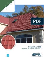 Interlock Tile Specifications