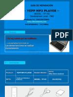 Informe Tecnico Reparando El Yepp Mp3 Player de Samsung