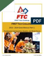 ftc-2013-2014 game manual part 1