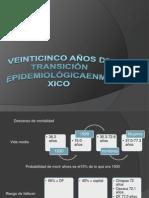 Veinticinco Años de Transicion epidemiologica