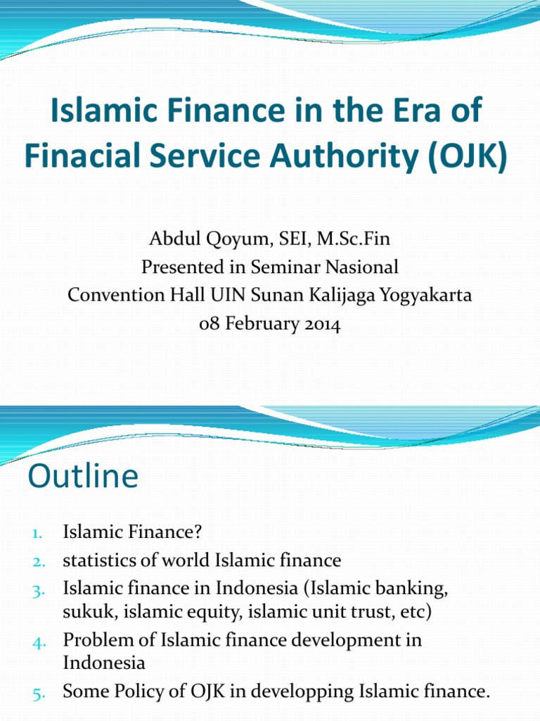 Materi seminar ojk abdul qoyum islamic banking and finance real materi seminar ojk abdul qoyum islamic banking and finance real estate investment trust malvernweather Gallery