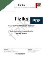 Mathematics Study Material