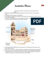 Features of Elizabethan Theatre