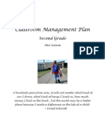 EDUC 122 Classroom Management Plan