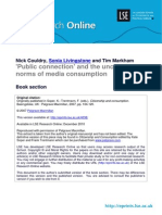 Public Connection and the Uncertain Norms of Media Consumption