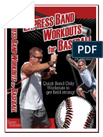 Band Workouts for Baseball