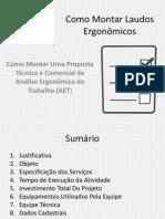 eBook Como Montar Uma Proposta de AET