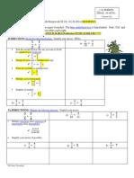 4 – Math Homework 02.24-- 02.28.2014  Original & Modified