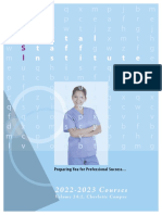Dental Staff Institute Course Catalog