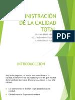 ADMINISTRACIÓN DE LA CALIDAD TOTAL-TQM