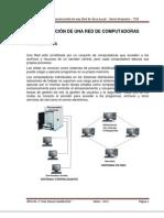 Descripción de una red de computadoras