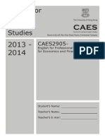 Caes2905_coursebooklet w Cover