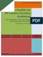 Propuestas para enseñar con TIC lectura y escritua académica