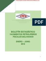Ypfb Boletin Estadistico Enero - Junio 2012