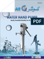 8.Water Hand Pumps