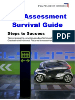 Assessment Centre Guide Psa