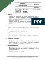Procedimiento de Gestión de Proyectos rev 6