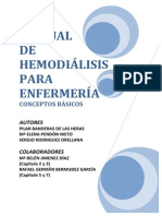 Manual de Hemodialisis Para Enfermeria Conceptos Basicos