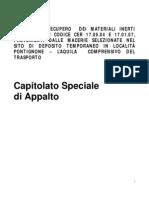 Appalto macerie L'Aquila -atto finale-
