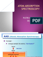 Atom Absorption Spectroscopy