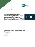 PCI DSS Glossary v3