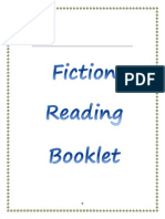 fiction reading booklet