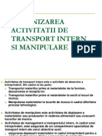 Organizactivit Transp