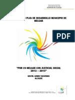 Melgar Plan de Desarrollo 2012