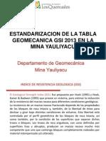 Introducción Presentación GSI 2013