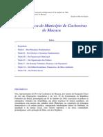 Lei Organica - Cachoeiras Macacu.pdf