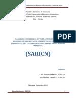 Manual de Usuario SARICN