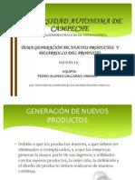 DESARROLLO DE NUEVOS PRODUCTOS presentación diapositivas