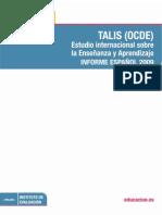 TALIS 2009 Informe español