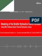 Hydraulic Simulation Using EASY5 Software