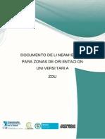 DOCUMENTO DE LINEAMIENTOS ZOU_Versión Final