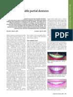 Esthetic Zone Removable partial denture