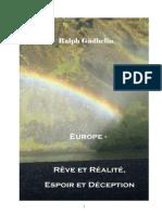 Europe - Rêve et Réalité Espoir et Déception