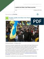 Gmail - [Nuovo Articolo] Ucraina_ Quello Che Il New York Times Non Dice