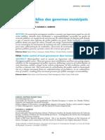 Controlo público dos governos municipais