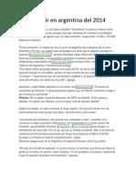 Invertir en Argentina Del 2014