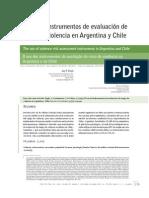 Evaluacion de Riesgos de Violencia en Argentina y Chile
