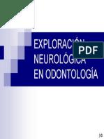 Exploracion en Neurologia