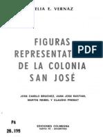 Vernaz. Figuras representativas de la colonia San José