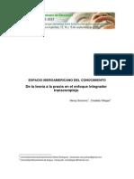 De la teoría a la praxis en el enfoque integrador  SHAVINO